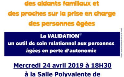La VALIDATION, un outil de soin relationnel aux personnes âgées